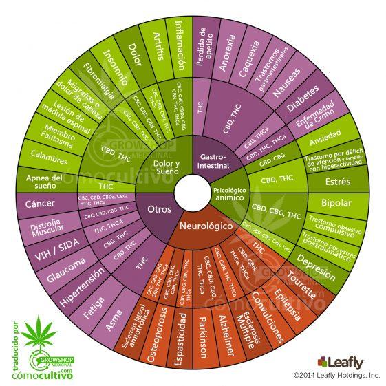 Cannabinoides de la marihuana para tratar enfermedades