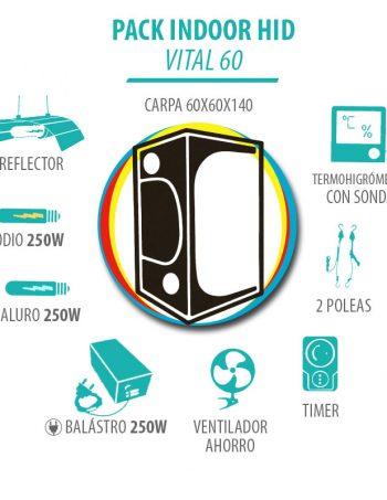 Pack Indoor HID Vital 60