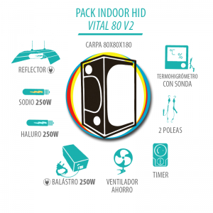 Pack Indoor HID Vital 80 2