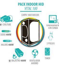 Pack Indoor HID Vital 100