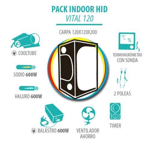 Pack Indoor HID Vital 120