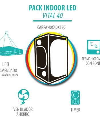 Pack Indoor LED Vital 40