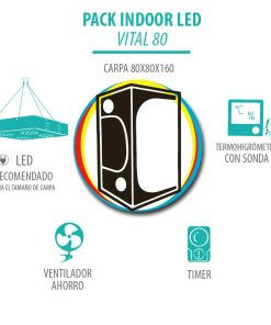 Pack Indoor LED Vital 80
