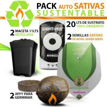 Pack de Cultivo Auto Sativas
