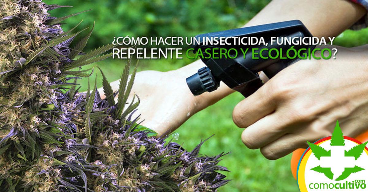 Insecticida Fungicida y Repelente casero