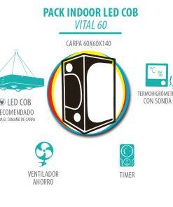 Pack Indoor LED COB Vital 60