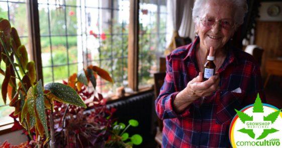 """Anciana de 97 años con artrosis: """"aceite de cannabis me devolvió la vida"""""""