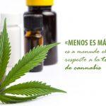 Dosificaciones de cannabis