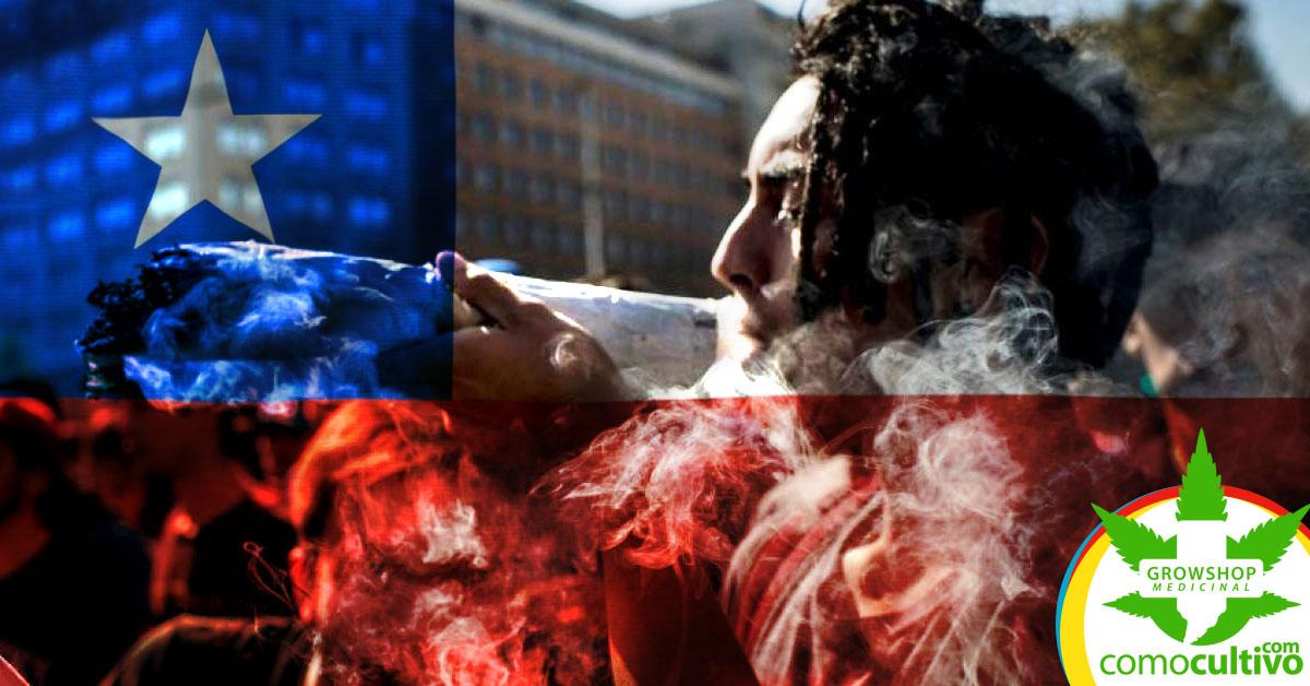 Chile en consumo de cannabis