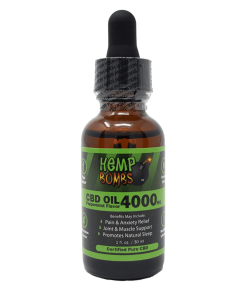 Aceite de CBD sublingual 4000 mg