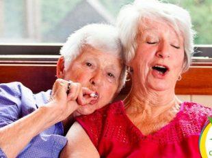Ancianos tratados con marihuana