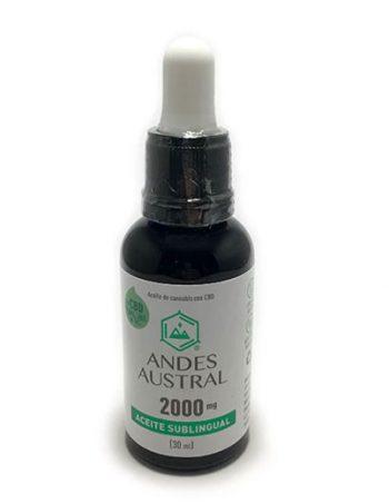 aceite de cbd 2000 mg