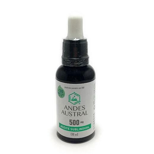 aceite de cbd 500 mg