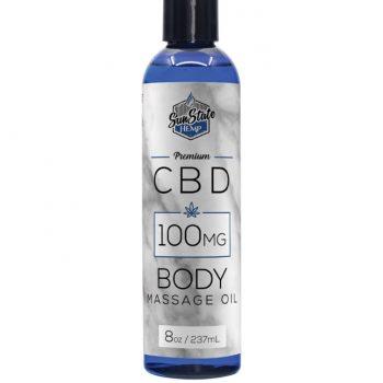 Aceite de masaje con CBD