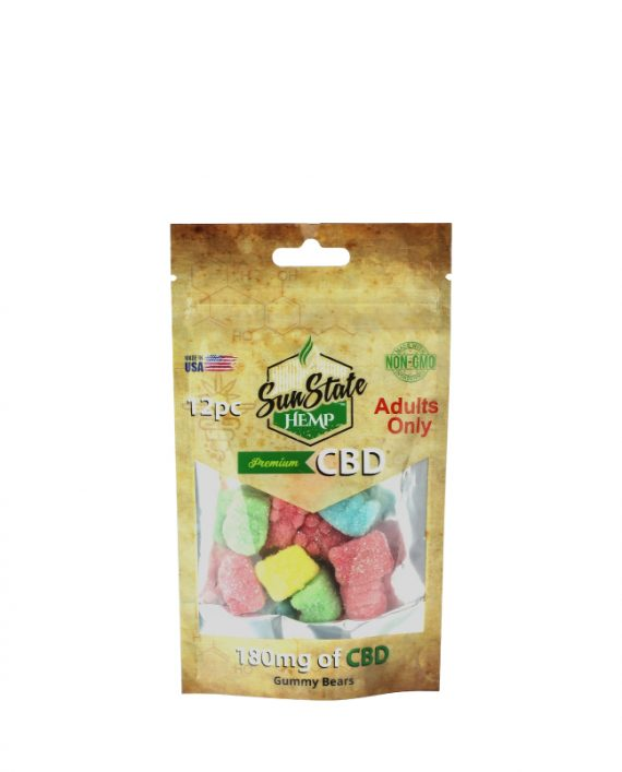 Gomitas de CBD 180 MG