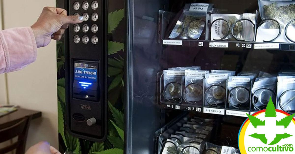 Máquinas expendedoras de Marihuana