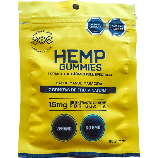 Gomitas Hemp 15 mg