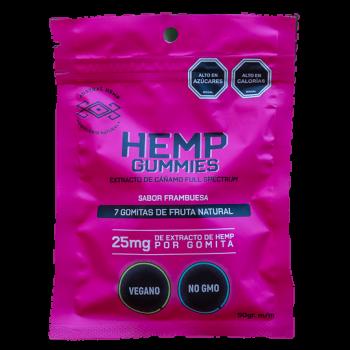 Gomitas Hemp 25 mg
