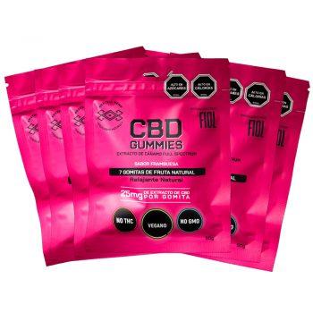 Gomitas CBD 25 mg