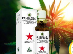 Cannabiol fabricado a base de Cannabis